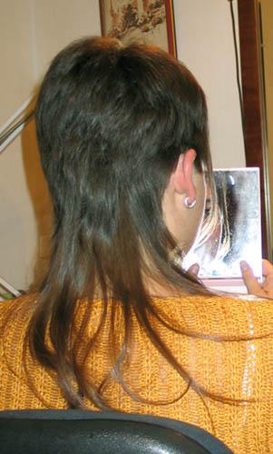 фото сзади стрижки удлиненный боб
